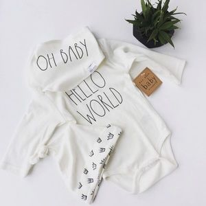 👶 Host Pick 👶 Rae Dunn Baby Suits 3 Piece Set